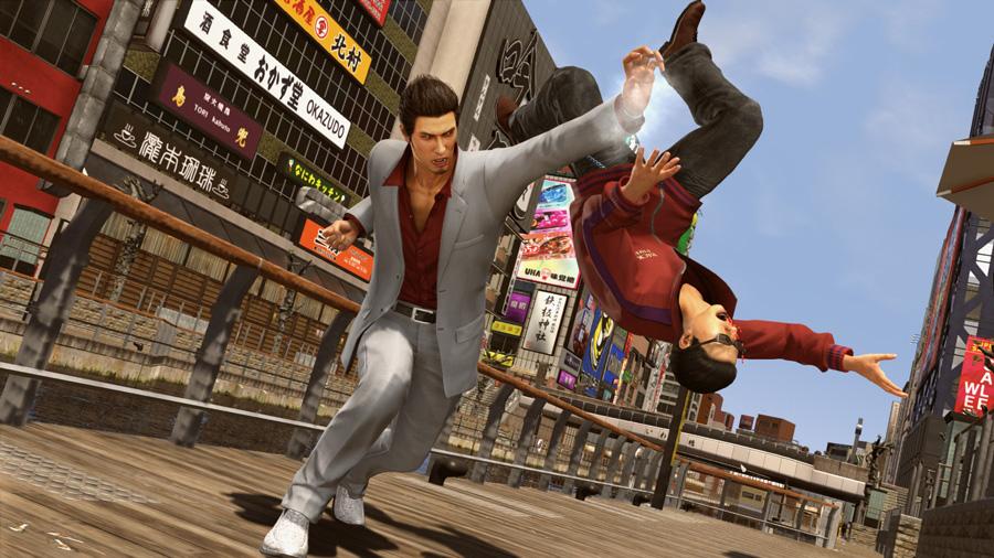 Yakuza Kiwami 2 - Komaki Fist Reversal